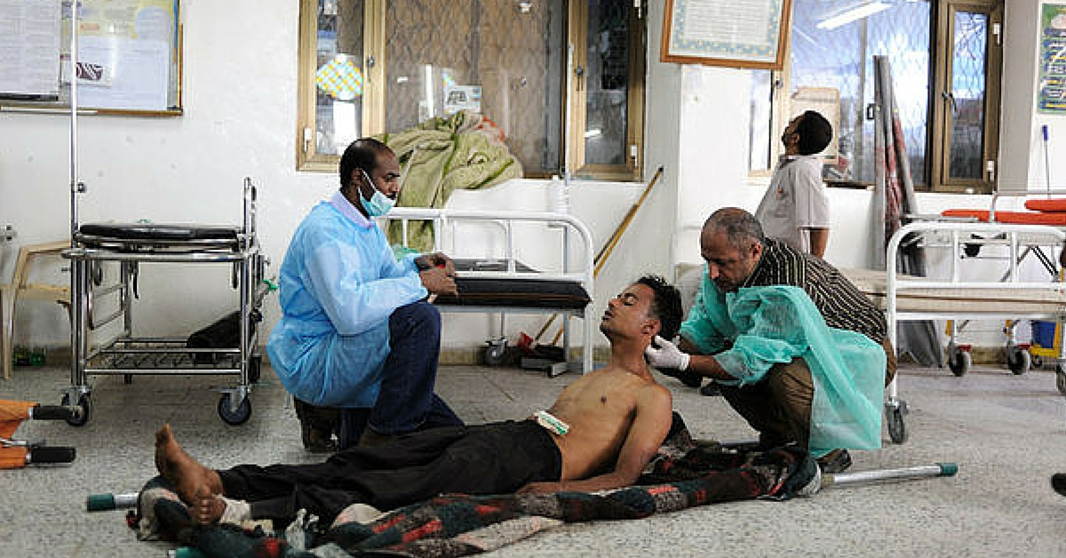 TBI BLOGS: What is it Like to Work in a Conflict Zone? An Indian Doctor's Stories From Yemen