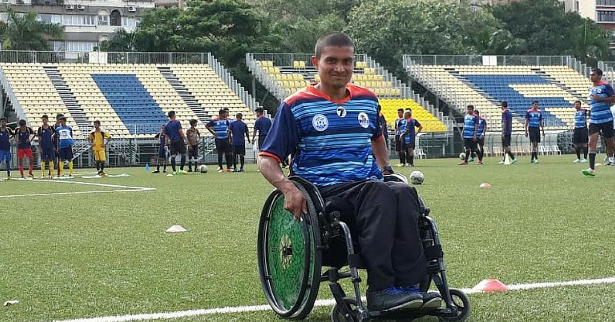 TBI BLOGS: Meet Oliver D'Souza, India's First Wheelchair-Bound Professional Football Coach