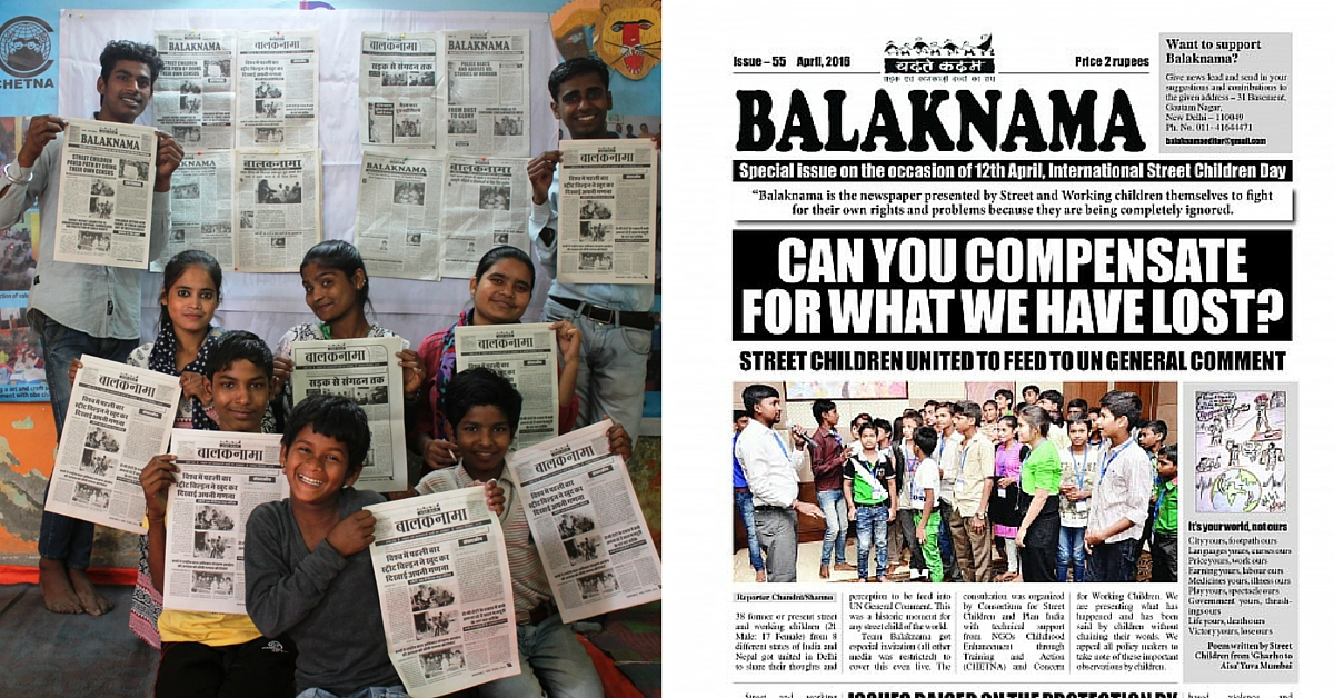 This Newspaper By and For Street Children Tells Stories of Lost Childhoods