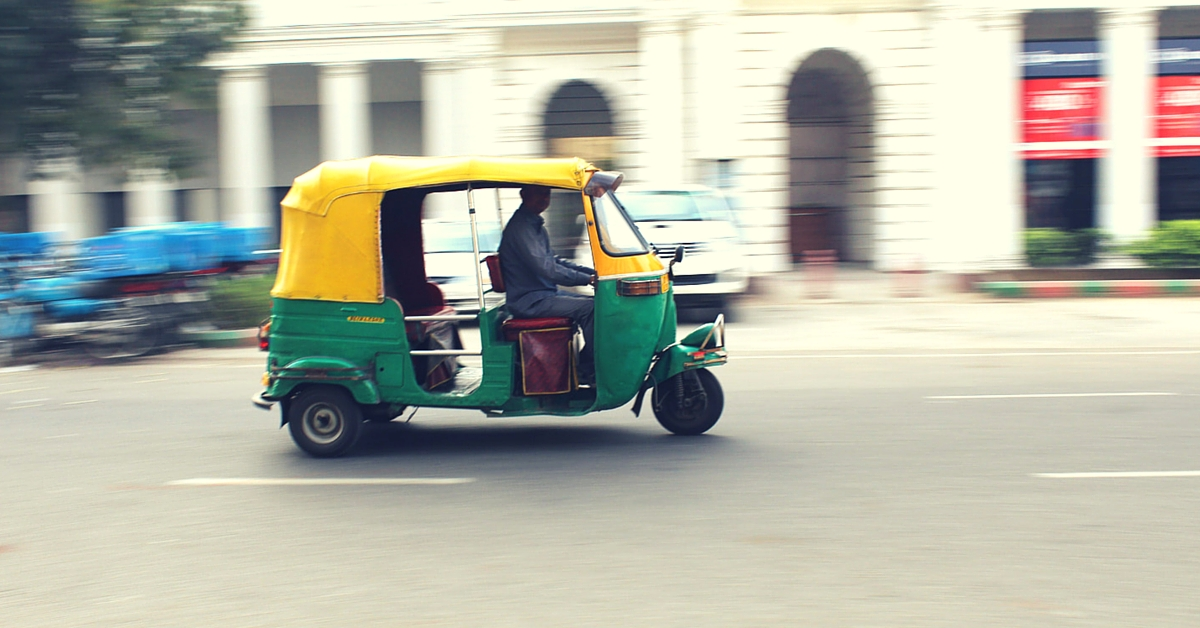 Delhi Auto Rickshaw Drivers Who Help Accident Victims Will Now Be Rewarded with Rs. 2000