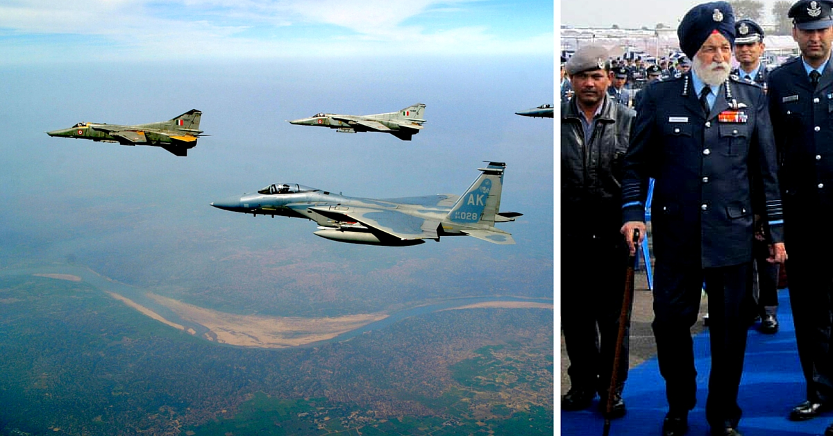 At 97, India's Oldest Serving Air Marshal Arjan Singh Has an Air Base Named After Him