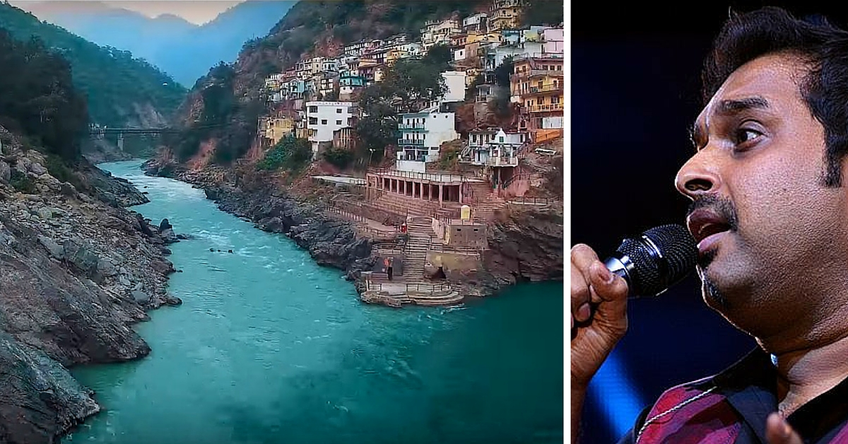 VIDEO: Shankar Mahadevan Lends His Voice to this Beautiful Musical Tribute to River Ganga
