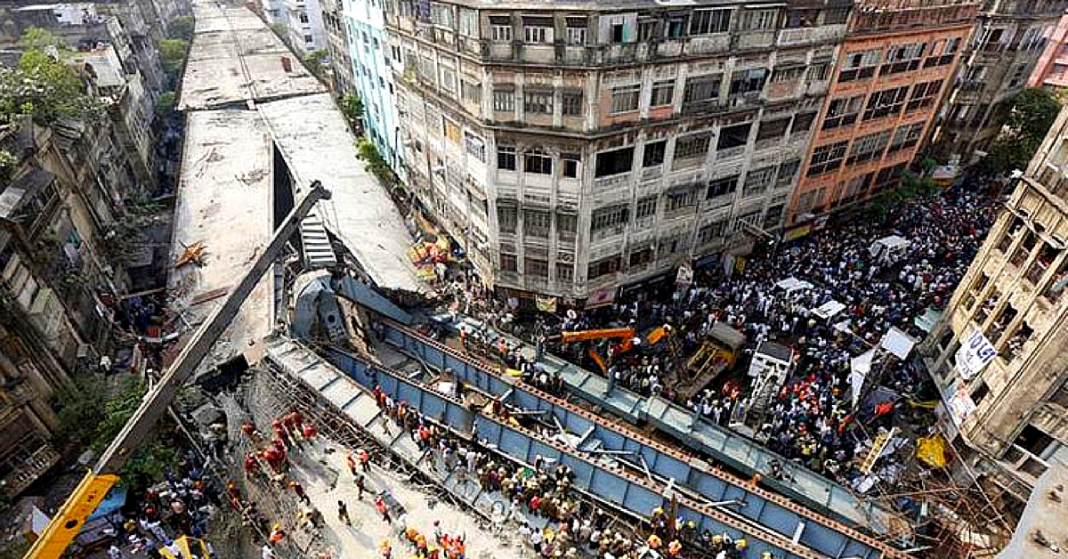 How Railways Cleared Kolkata Flyover Debris in Just 10 Days, without Damaging Buildings