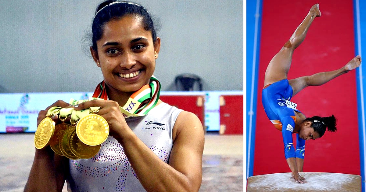 At 22, Dipa Karmakar Is the First Indian Gymnast to Vault Her Way Into the Rio Olympics