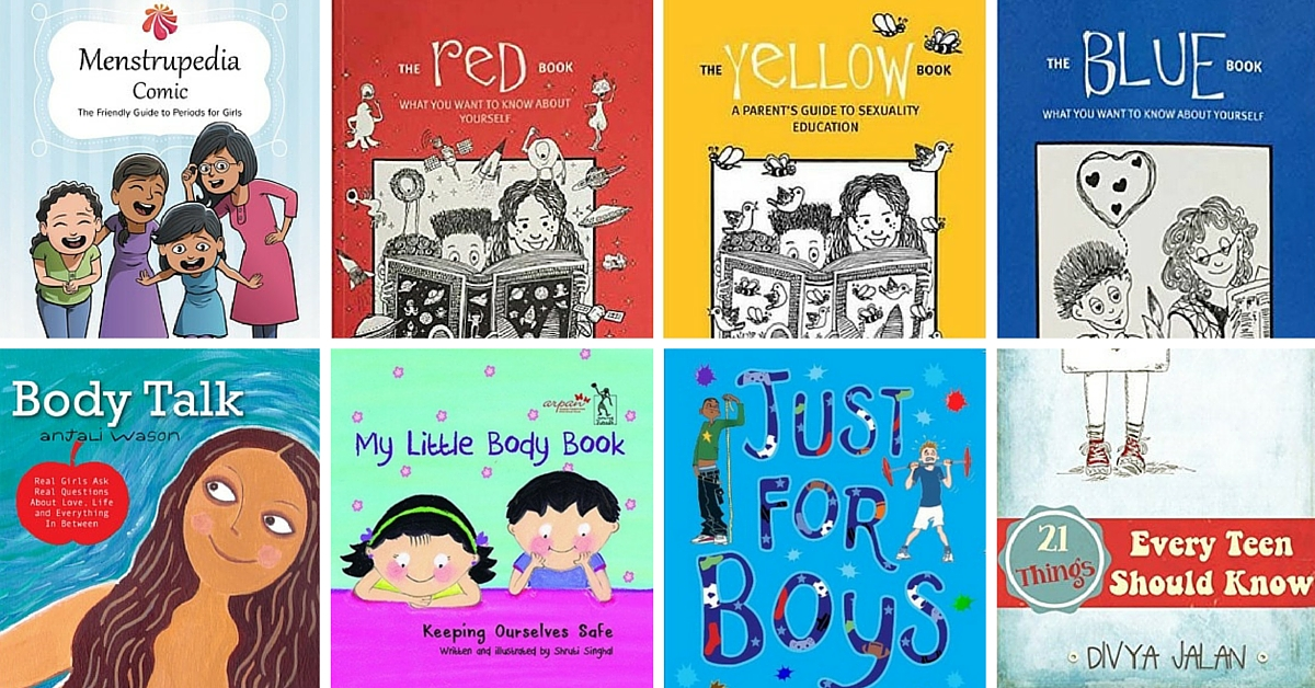 11 Amazing Indian Books to Take Children Through Sex Education and Puberty