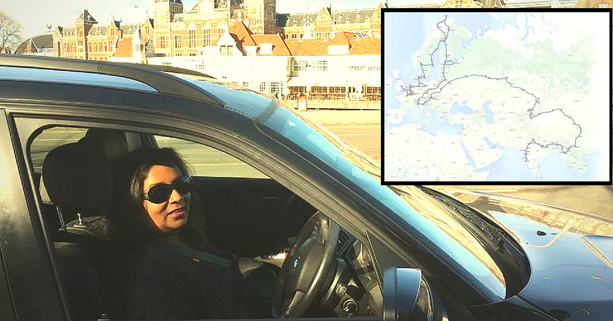 UK to India. 31,000 Km in 75 Days: Solo Car Driver Bharulata Is Setting out to Create a Record.