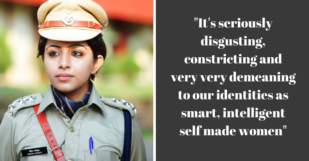 In a Scathing Attack on Media's Sexist Double Standards, IPS Officer Takes down Regional Daily