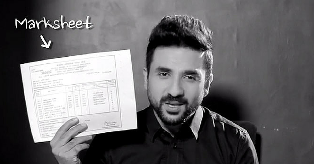 VIDEO: Some Real Talk from Vir Das for Parents and Kids Waiting for Exam Results