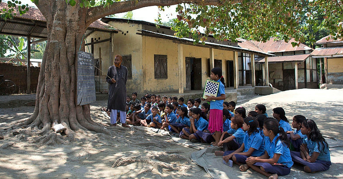 Farmer Family That Never Went to High School, Donates Land for Village Kids' Education