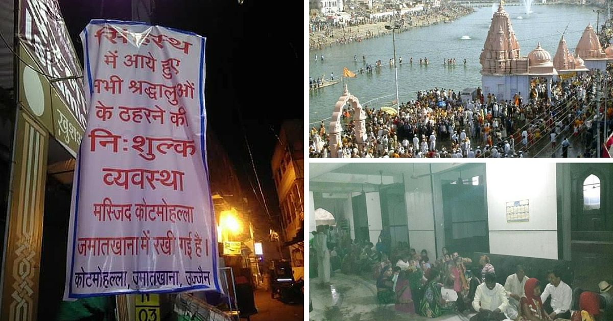 Mosques Welcome Hindu Devotees Looking For Shelter After Squalls Disrupt Ujjain Kumbh Fair