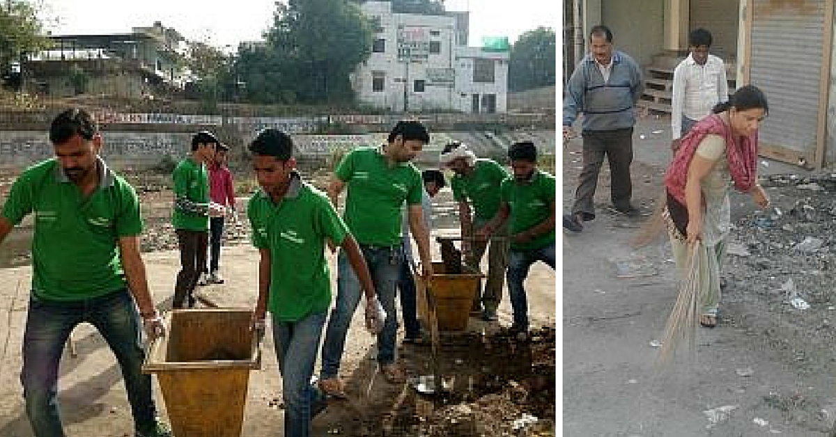 If It's Sunday, It Must Be Shramdaan Day! Here's How You Can Also Donate Effort, Not Money.