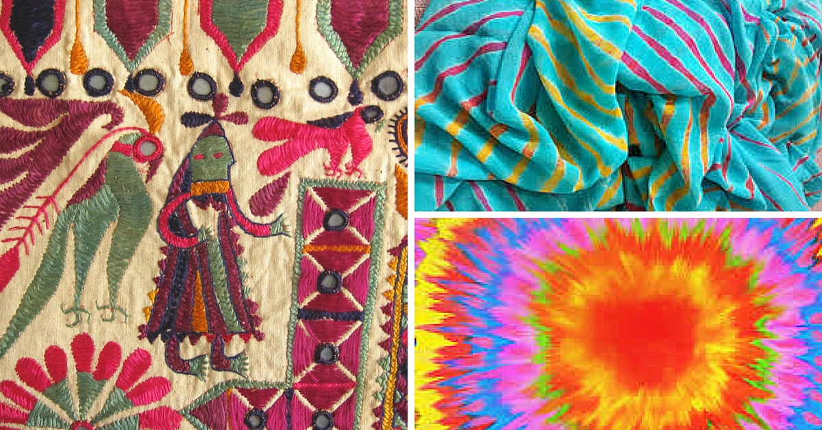 TBI BLOGS: From Ajrakh to Leheriya – Learn About the Fascinating History Behind Indian Textiles