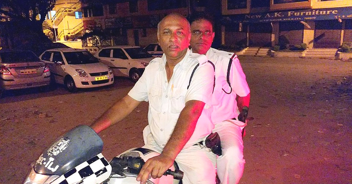"""""""Not Every Policeman Is Bad"""" – Says Kolkata Cop Who Selflessly Helped Citizens at 3:00 AM"""