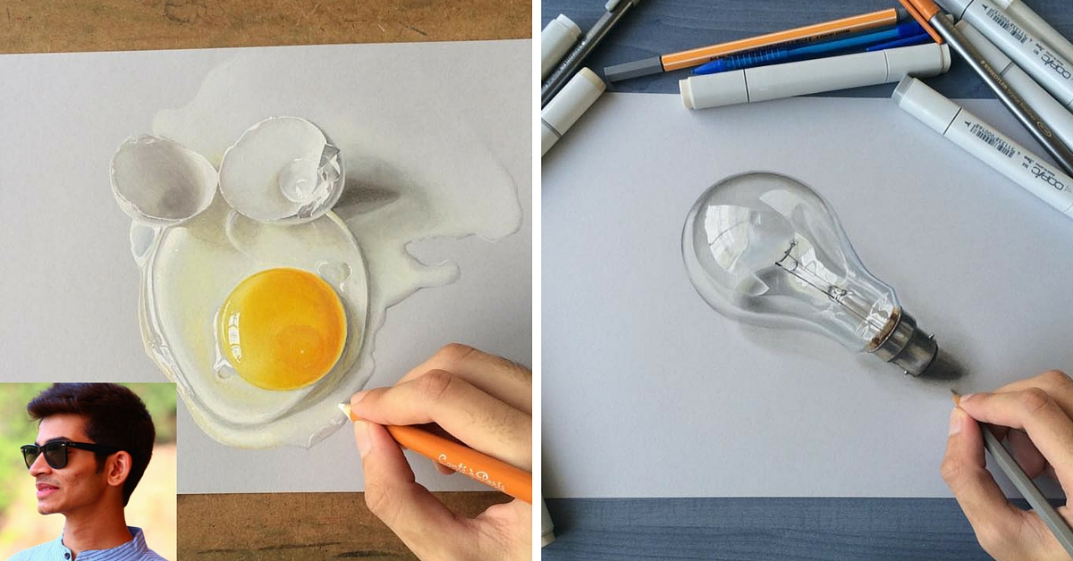 19-Year-Old's Stunning 3D Drawings Will Make You Want to Reach Out and Touch Them