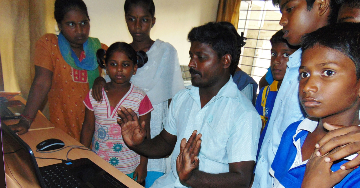 TBI Blog: This Man Is Training HIV-Infected Children in Computers to Make Them Financially Independent