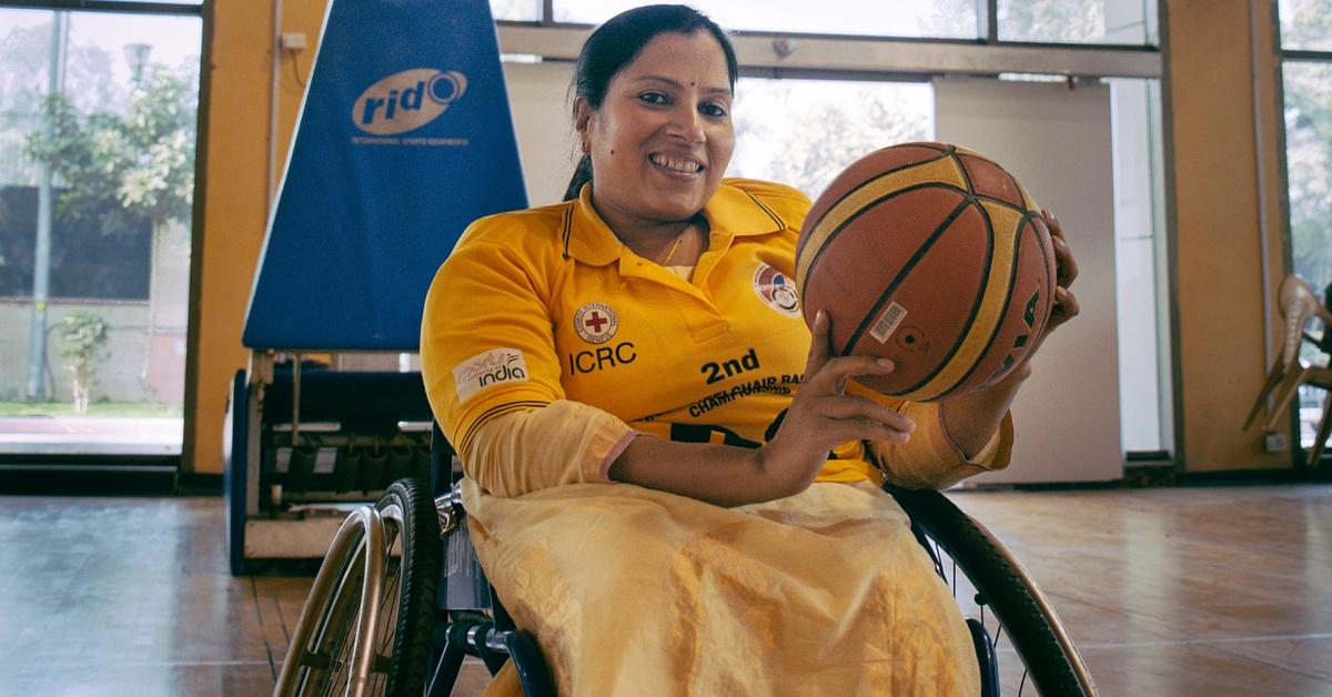 Meet Madhavi Latha: The Crusader for Wheelchair Basketball in India