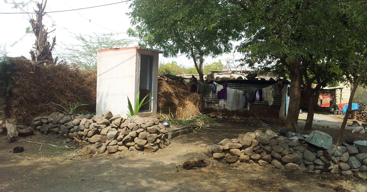 Meet the Man Who Mortgaged His Goats and His Wife's Jewellery to Build a Toilet in His Home
