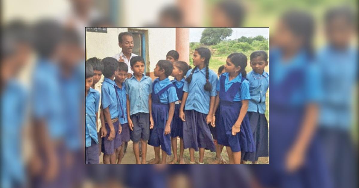 This Teacher Climbs a Hill Everyday to Keep a Village Govt School Running