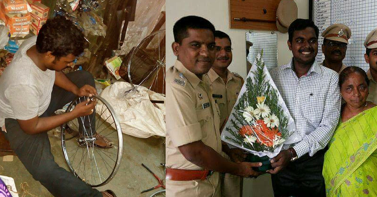 This IAS Officer Would Have Been Repairing Cycles If Not for the Kindness of Strangers