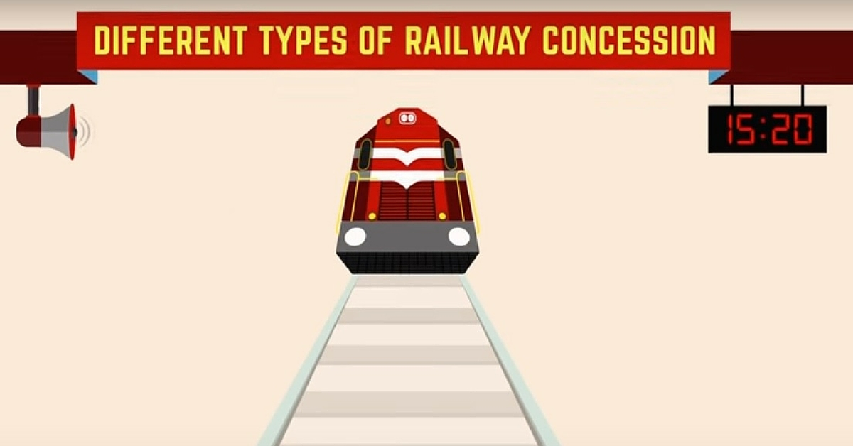 VIDEO: Did You Know Indian Railways Offers Various Kinds of Concessions? Check Them Out.
