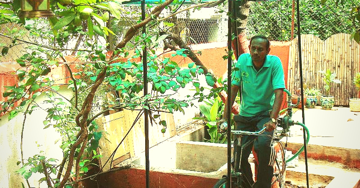 This Pune Family Shows the World How to Exercise and Save Water at the Same Time!