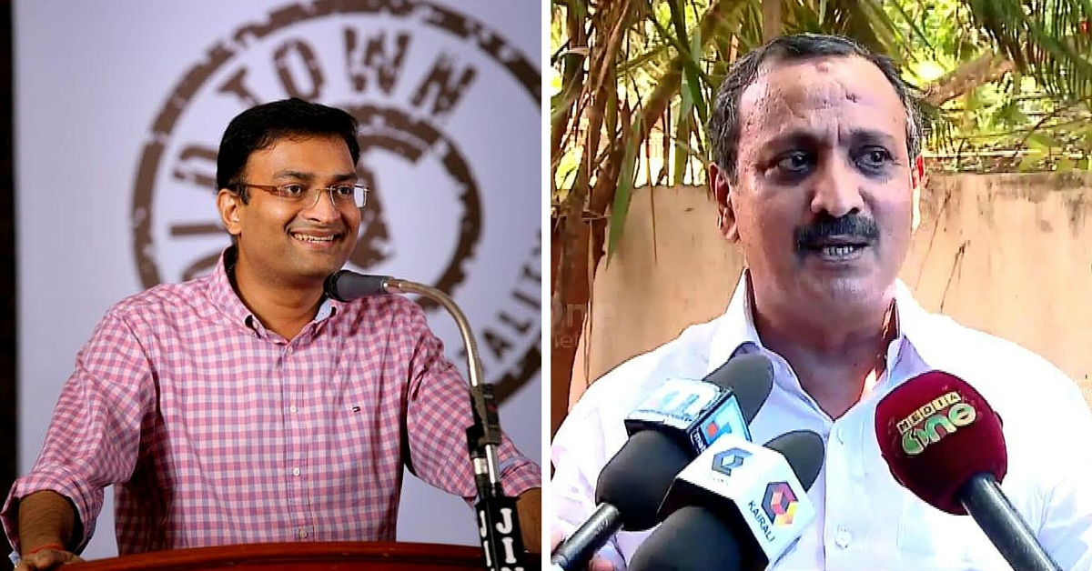 "Popular Kozhikode Collector Prasanth Nair's Cheeky ""Apology"" to Kerala MP Goes Viral"