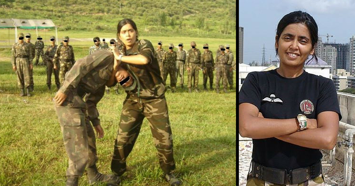 This Amazing Woman Has Been Training India's Special Forces for 20 Years without Compensation!