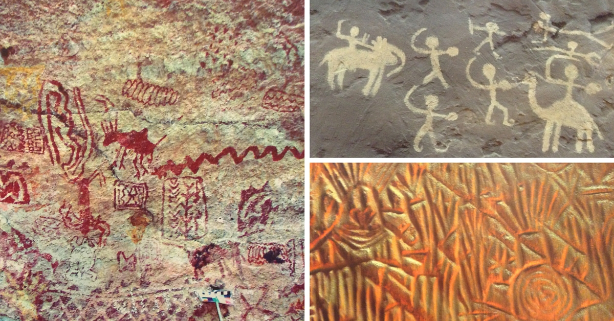 How One Indian Organization is Trying to Preserve Ancient Indian Rock Art Found in Caves