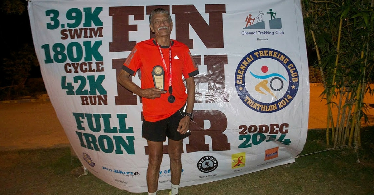 VIDEO: 67-Year-Old Is India's Oldest Ironman