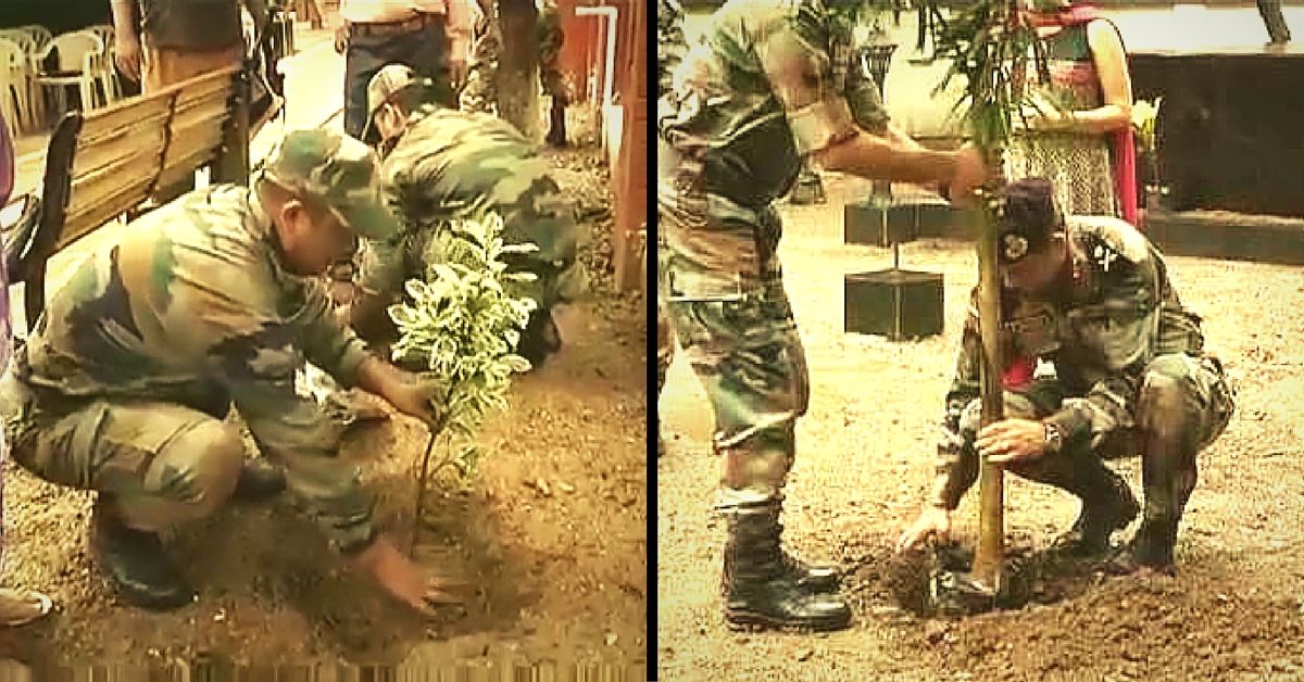 Indian Army Just Expanded Mumbai's Green Cover with Thousands of New Saplings!