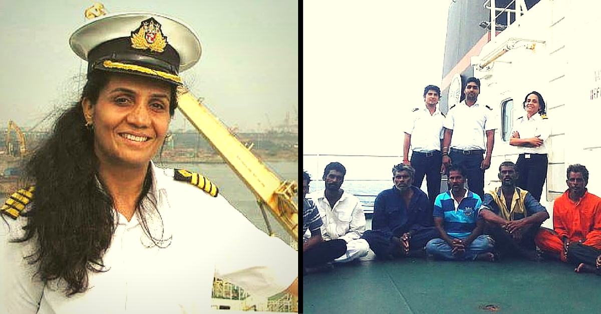 Know Captain Radhika Menon, the First Woman in the World to Win Bravery at Sea Award