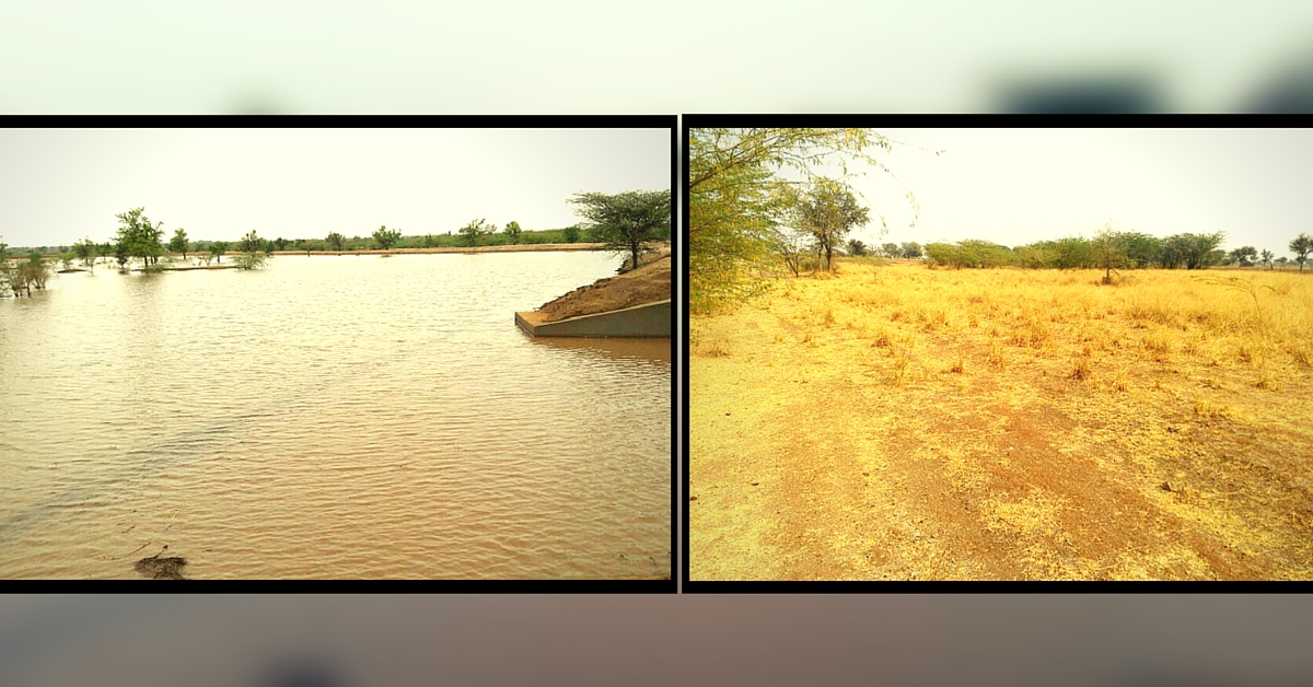 Rajasthan Villagers Convert 52 Hectares of Barren Land into Lake, Setting Example in Self-Reliance