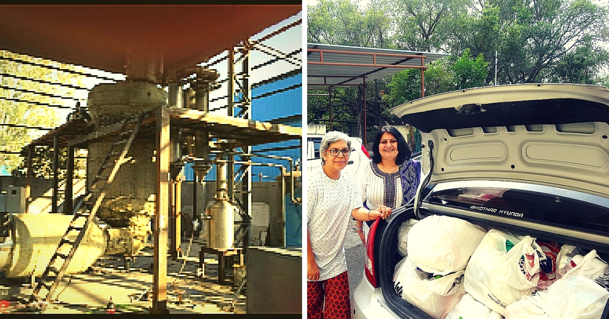This Pune Organization Converts Plastic Waste into Poly-Fuel with No Damage to the Environment