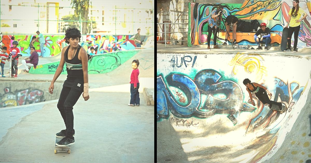 Meet India's First Professional Female Skateboarder Who Wants More Girls to Take up the Sport
