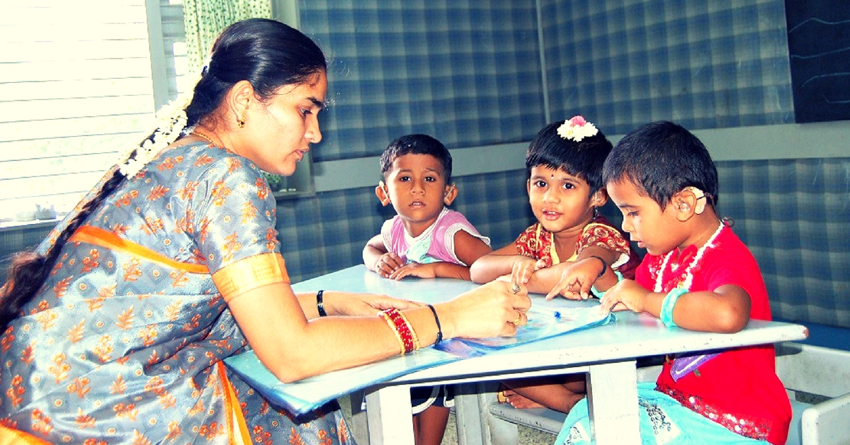This Intervention Centre Helps Children with Hearing Impairments to Speak & Join Regular Schools