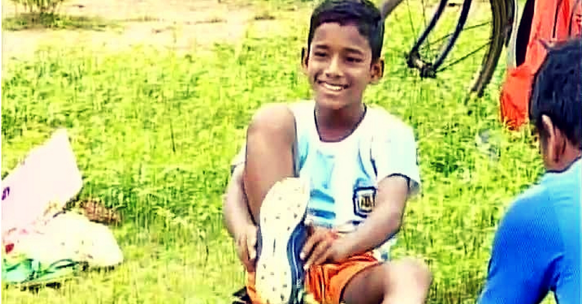 How an 11-Year-Old Underprivileged Boy from Odisha Made It to Germany's Bayern Munich Football Club