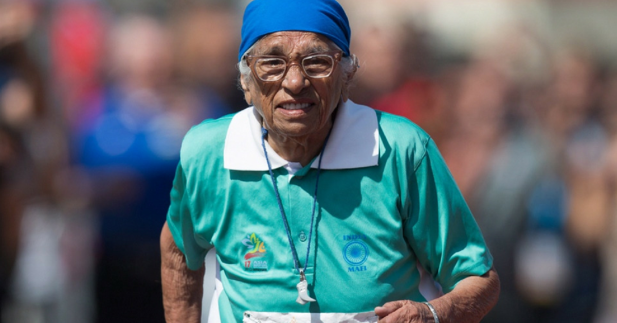 100-year-old Man Kaur Makes India Proud With Age Defying Sprint at Vancouver Senior Games