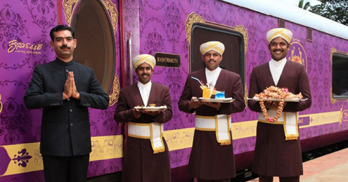 Get Your Marriage on Track: Take Your Wedding Vows Aboard a Luxury Indian Train