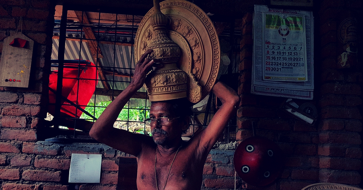 TBI Blogs: Ever Met a Craftsman Who Makes the Headgear & Ornaments Worn by Kathakali Artistes?