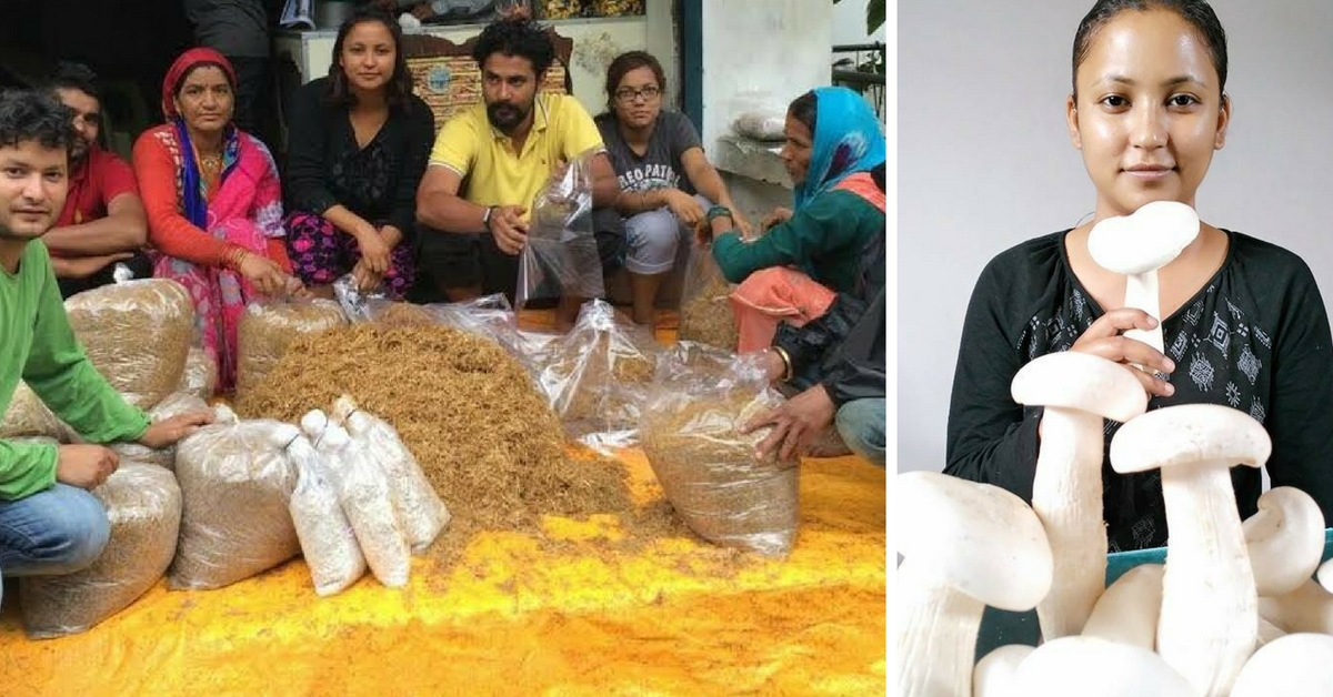 This 26-Year-Old Is Using Mushroom Cultivation to Bring Livelihood Opportunities to Uttarakhand