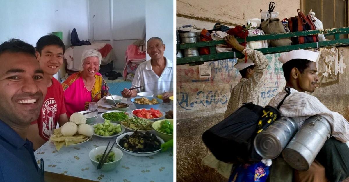 Dabbawallahs Help Mumbai-Based Journalist Travel around the World