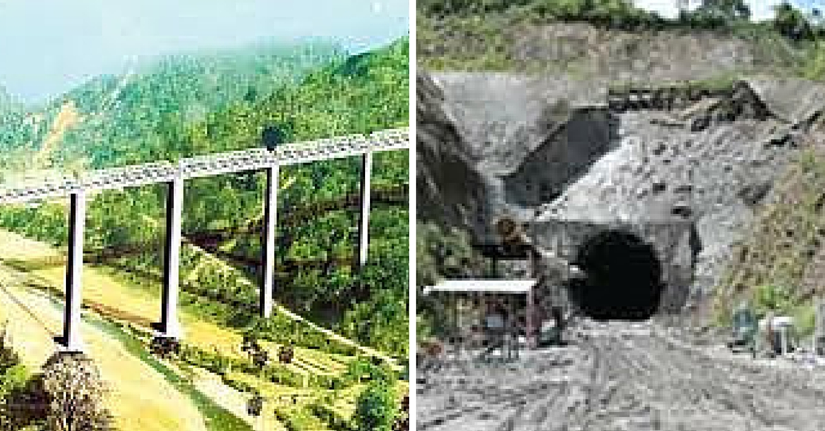Indian Railways to Build Country's Longest Tunnel and World's Tallest Girder Rail Bridge in Manipur