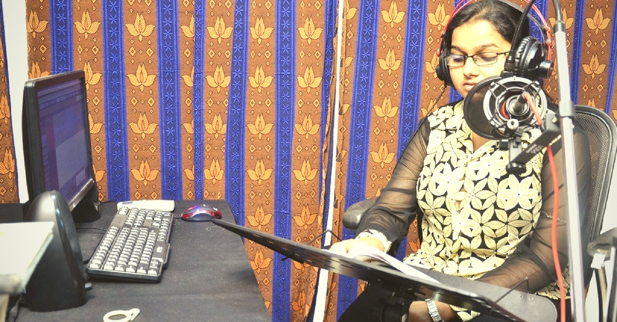 How a Bhubaneswar-Based NGO Is Recording Audio Books for Students with Visual Impairments