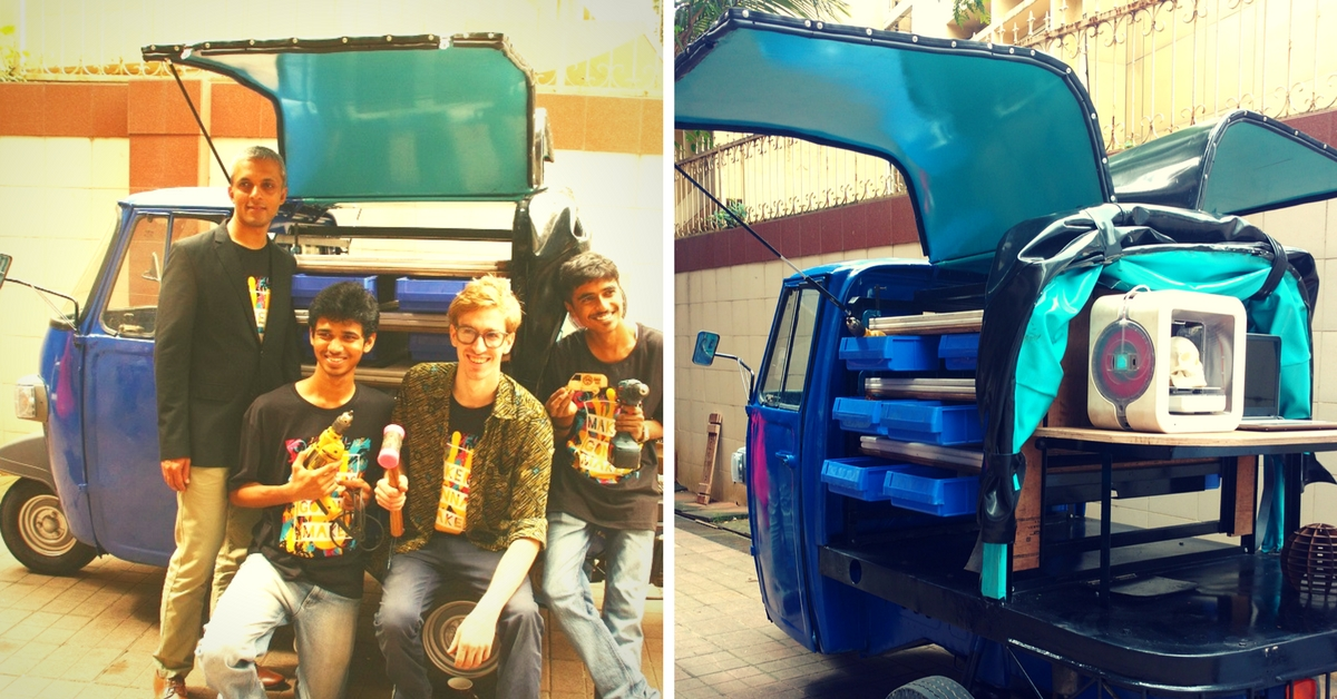 How an Auto with Gull-Wings Will Help Mumbaikars Tinker, Innovate and Have Fun