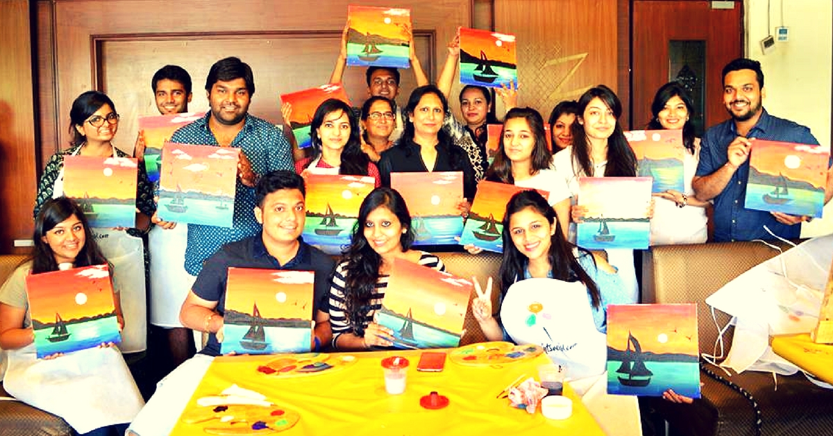 This New Initiative Is Helping People in Mumbai & Pune Get Together to Hangout and Paint