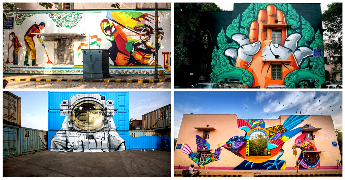 This October, the St+Art Festival Will Be Painting Bengaluru Red with Its Beautiful Art Work