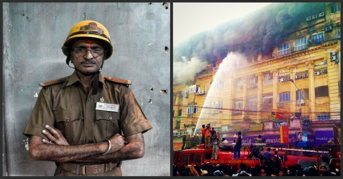 This 59-Year-Old Has Been Voluntarily Fighting Fires and Saving Lives in Kolkata for 40 Years