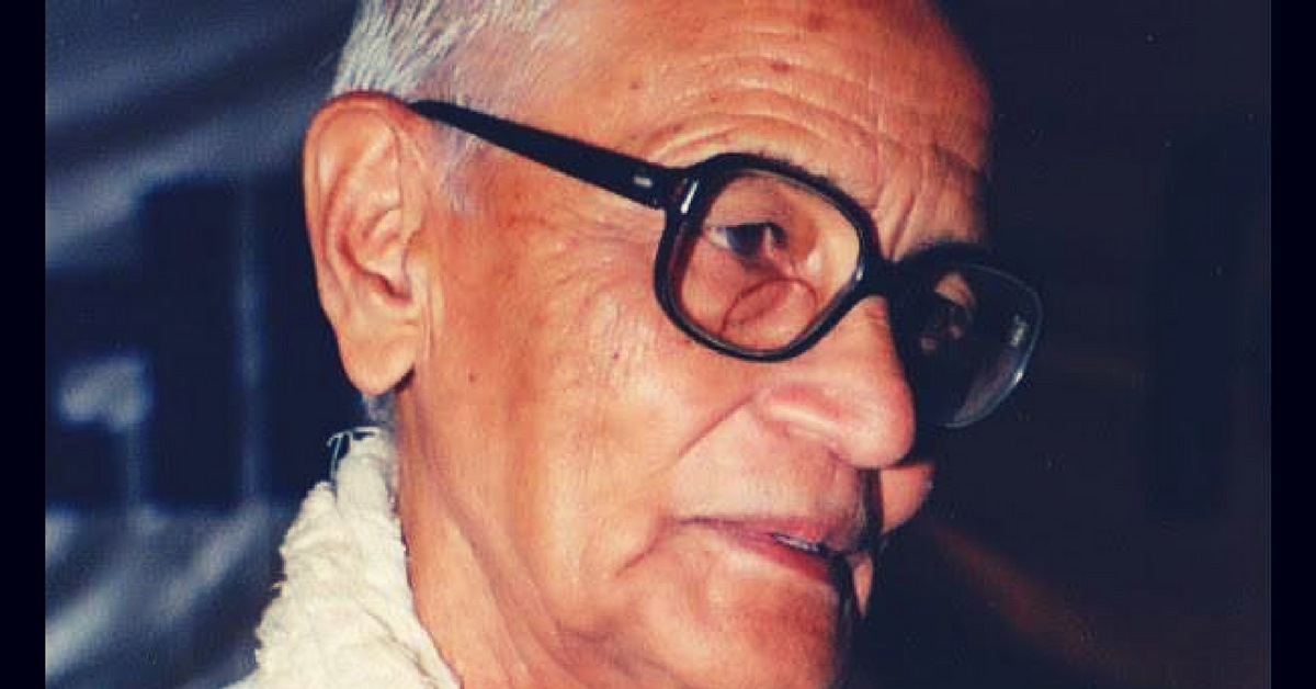 TBI Blogs: Remembering Chunibhai Vaidya, the Hero Freedom Fighter Who Helped 352 Villages Get Water