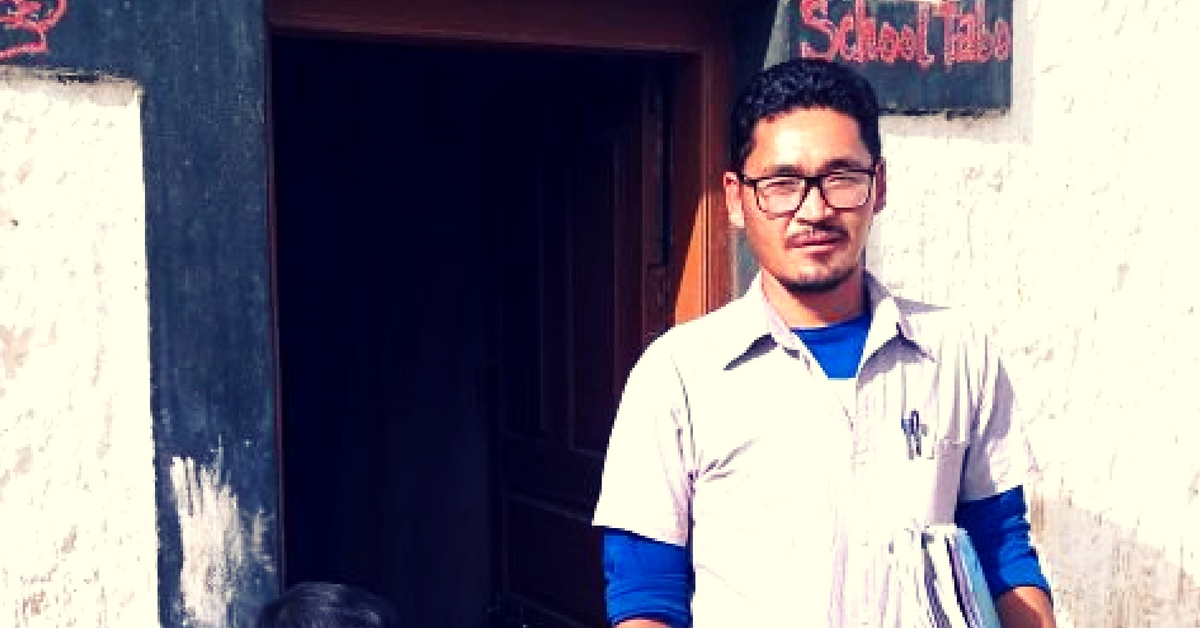 TBI Blogs: This Man Cooks for and Teaches 23 Children In His One-Room School in Lahaul & Spiti