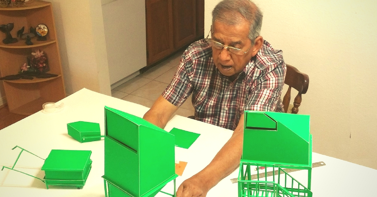 Bins Designed by This 87-Year-Old Mech Engineer Are Making Waste Collection Easier in India